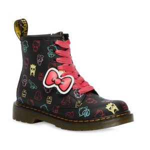 Dr Martens Dr Martens 1460 Hello Kitty And Friends Kids Black
