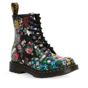 Dr Martens Dr Martens 1460 Floral Mash Pascal Boot White