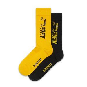Dr Martens Dr Martens Dna Heel Loop 2-Pack Socks Black