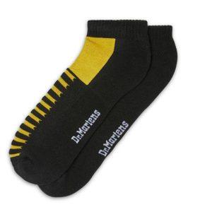 Dr Martens Dr Martens Short Double Doc Socks Black