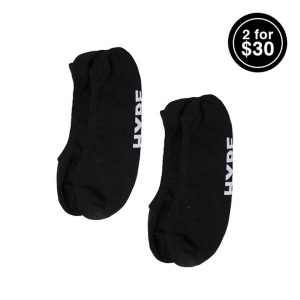 Hype DC Hype DC INVISIBLE SOCK 3 PACK (10-12)