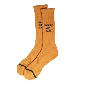 N/A Socks N/A Socks HANDLE WITH CARE SOCK