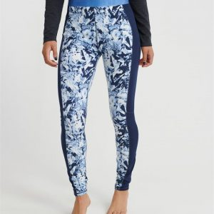 Superdry Snow Carbon Baselayer Legging Frosted Blue Ice/Vortex Navy