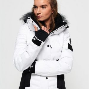Superdry Snow Luxe Snow Puffer Optic