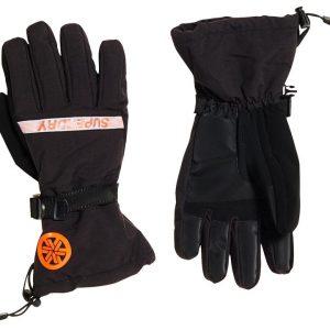 Superdry Snow Ultimate Snow Rescue Glove. Onyx Black