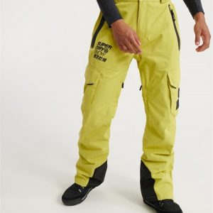 Superdry Snow Ultimate Snow Rescue Pant Sulpher Yellow