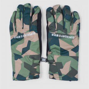 Superdry Snow Snow Gloves Camo Aop