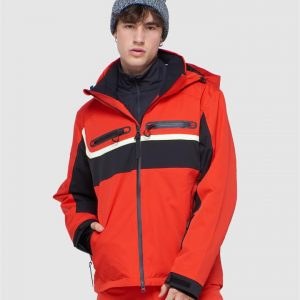 Superdry Snow 4 X Way Stretch Racer Jacket Apple Red