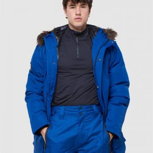 Superdry Snow Everest Down Snow Parka. Mazarine Blue