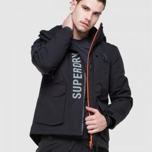 Superdry Snow Ultimate Mountain Rescue Jkt Black