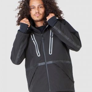 Superdry Snow Expedition Shell Jacket Black