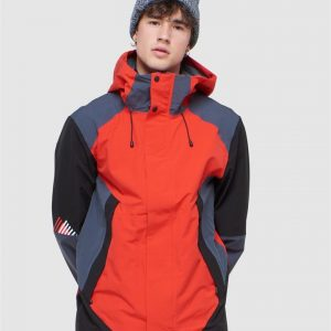 Superdry Snow Clean Pro Shell Jacket Apple Red