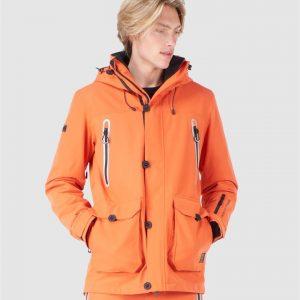 Superdry Snow Freestyle Jacket Havanna Orange