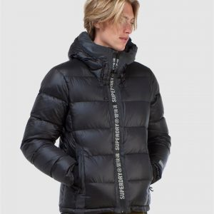 Superdry Snow Mountain Pro Racer Puffer Black