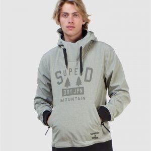 Superdry Snow Snow Tech Hood Grey Marle