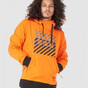Superdry Snow Snow Tech Hood Havanna Orange