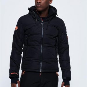 Superdry Snow Snow Shadow Down  Jacket Carbonised Black