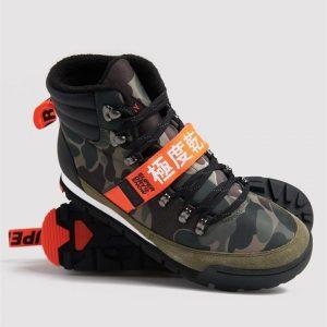 Superdry Snow Outlander Snow Boots Camo