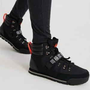 Superdry Snow Outlander Snow Boots Black