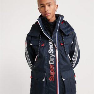 Superdry Snow Ultimate Snow Combat Jacket Deep Tricolore