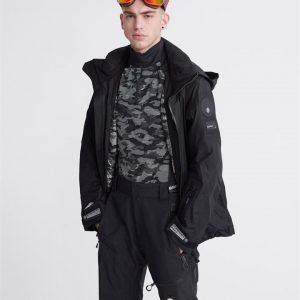 Superdry Snow Snow Assassin Jacket Stealth Black