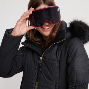 Superdry Snow Slalom Goggle Fluro Pink