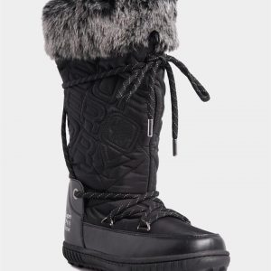 Superdry Snow Stealth Snow Boots Black