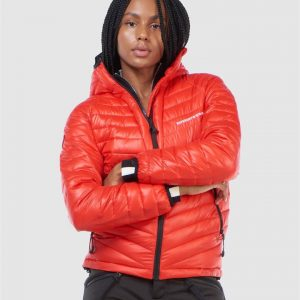Superdry Snow Alpine Padded Mid Layer Red