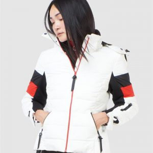Superdry Snow Alpine Revive Puffer White