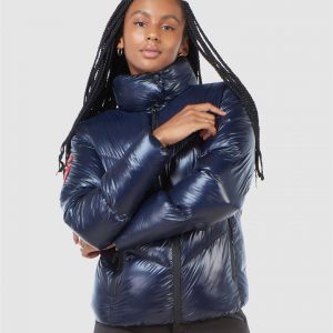 Superdry Snow Mountain Pro Racer Puffer Navy