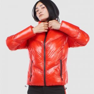 Superdry Snow Mountain Pro Racer Puffer Apple Red
