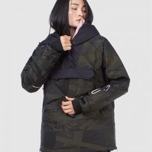 Superdry Snow Freestyle Rescue Overhead Camo