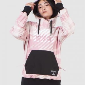 Superdry Snow Freestyle Tech Overhead Soft Pink