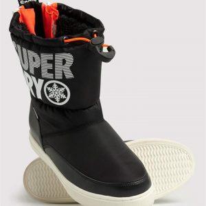 Superdry Snow Japan Edition Snow Boots Black