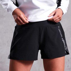 Superdry Sport Active Loose Shorts Black