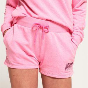 Superdry Sport Core Sport Shorts Sugar Pink Marle