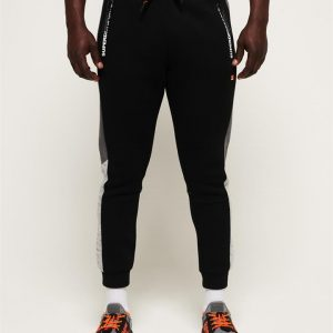 Superdry Sport Gymtech Colourblock Jogger Black/Asphalt Marle