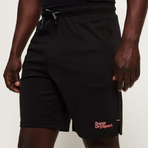 Superdry Sport Active Tricot Short Black