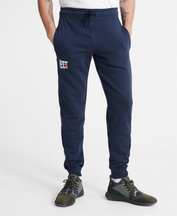 Superdry Sport Core Sport Joggers. Dress Blue