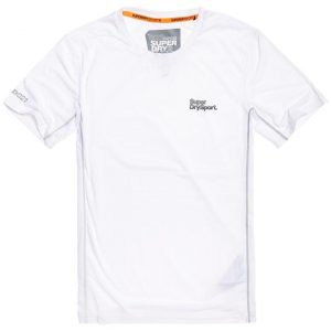 Superdry Sport Active Training S/S Tee Optic White