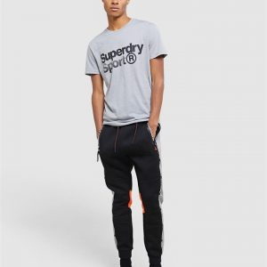 Superdry Sport Core Sport Graphic Tee.. Light Grey Marle