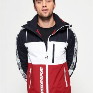 Superdry Sport Javlein Blocker Jacket Navy/White/Red