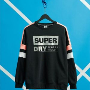 Superdry Sport Streetsport Crew Black