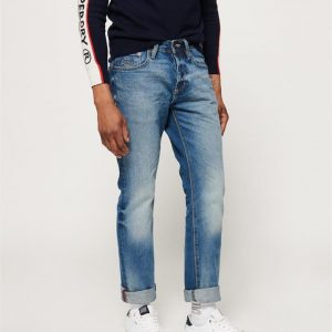 Superdry Straight Jean Zion Mid Blue