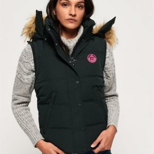 Superdry Rookie Down Gilet Deep Forest