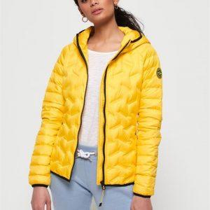 Superdry Radar Down Jacket Bright Yellow