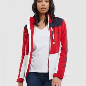 Superdry Superdry Boat Coat  Red/White/Navy