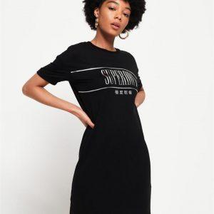 Superdry Portland Supersoft T Shirt Drs Black
