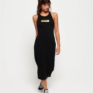 Superdry Alex Midi Dress Black