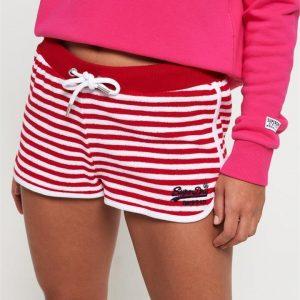 Superdry Ebele Stripe Shorts Nautical Red Stripe